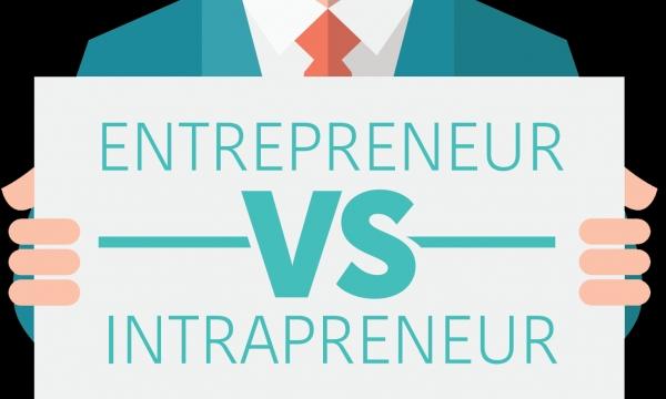 Bedakah Pengertian Entrepreneur dan Intrapreneur?